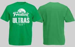 Freiheit für Ultras Shirt Grün
