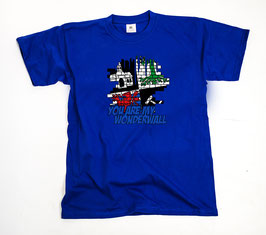 Gelsenkirchen Wonderwall Shirt Blau