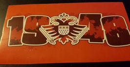 150 Köln Graffiti 1948 Wappen Aufkleber