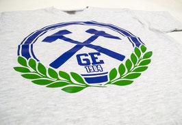 Gelsenkirchen Hämmer mit Lorbeerkranz Shirt Grau
