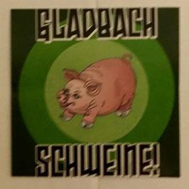 150 Gladbach Schweine Aufkleber
