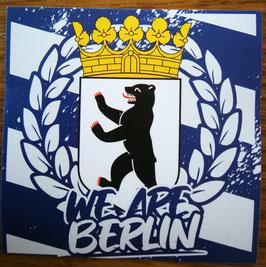 150 Berlin We are Berlin Aufkleber