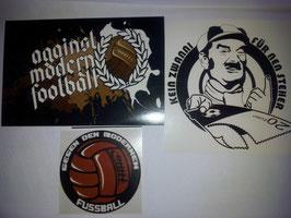 Gemischtes Set Riesenkleber Gegen Modernen Fussball