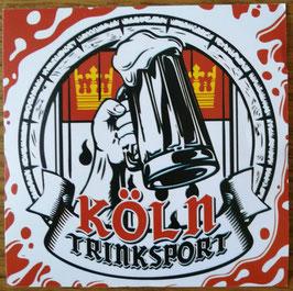 Köln Trinksport Stadtwappen Aufkleber