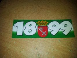 1899 + Stadtwappen Bremen