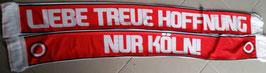 Köln Liebe Treue Hoffnung Seidenschal