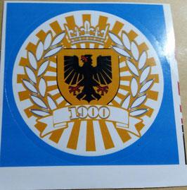 150 Dortmund Stadtwappen Kreis Rund Aufkleber