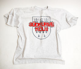 Köln Südkurve Köln Stadtwappen Shirt Grau