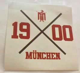 München 1900 Kreuz Aufkleber