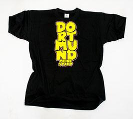 Dortmund meine Stadt untereinander Shirt Schwarz