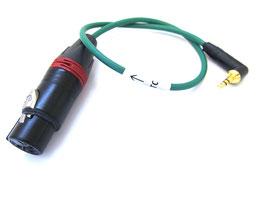 Timecode Kabel für Tentacle Sync TC-IN auf XLR female