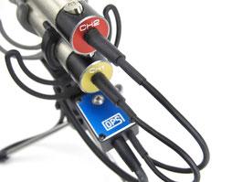 Connect-Box2S mit OPS-spezial XLRs -  für M/S Stereo-Paare mit 2x XLR 3-pin