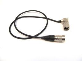 Hirose 4pin Kabel   4M - 4M R/A