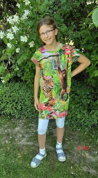 Longshirt oder Kleid mit 3-D Urwald!