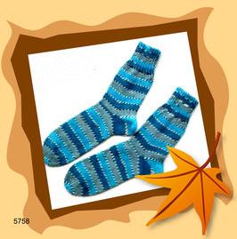Sehr schöne Kinderwollsocken in frischen Farben!