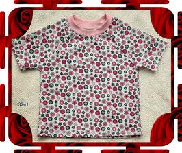Mädchen-T-Shirt, kurze Ärmel, selbstgenäht!