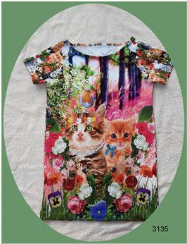 Longshirt oder Kleid für Katzenfreunde!
