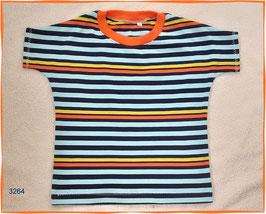 T-Shirt mit frischen, bunten Streifen!