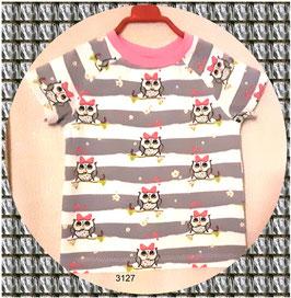 Kinder-T-Shirt, kurze Ärmel, selbstgenäht!