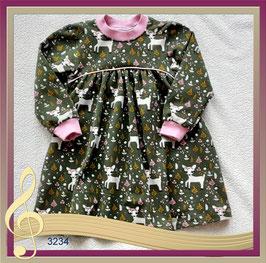Babykleid, Kinderkleid aus kuschligen Sweatstoff!