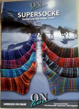 Sockenwolle, Strumpfwolle, 8-fädig zum Stricken und Häkeln!