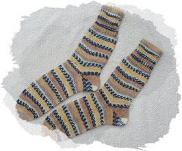 Damen-Wollsocken, Damen-Wollstrümpfe, 4-fädig, selbstgestrickt!