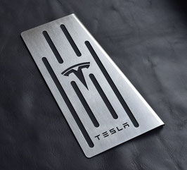 TESLA MODEL X REPOSAPIES INOX