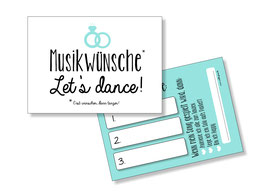 Musikwunschkarten Ringe