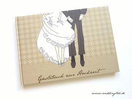 Gästebuch zur Hochzeit - Brautpaar
