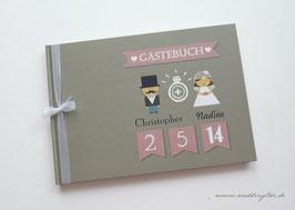 Gästebuch zur Hochzeit - Männchen