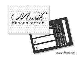 Musikwunschkarten Pünktchen & Anton