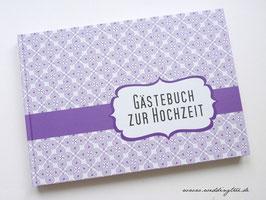 Gästebuch zur Hochzeit - Flieder