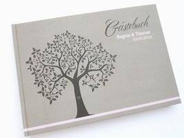 Gästebuch zur Hochzeit - Hochzeitsbaum