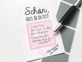Rubbelkarten Rosa Herz