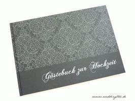 Gästebuch zur Hochzeit - Black is Back
