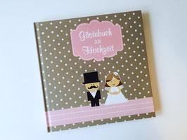 Gästebuch zur Hochzeit - Quadratisch