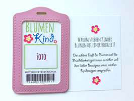 Ich bin ein Blumenkind Ausweis - Personalisiert