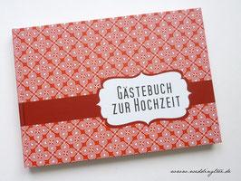 Gästebuch zur Hochzeit - Rot