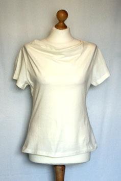 Shirt creme-weiß