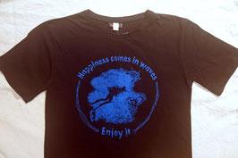 Herrenshirt Happyness