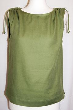 Bluse mit Schulterraffung