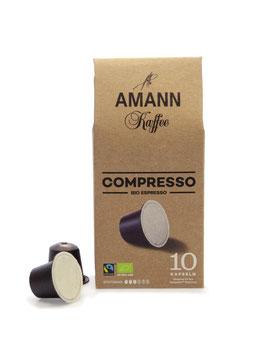 Compresso kompostierbare Kapseln 10 Stück