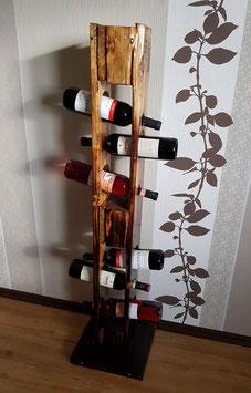 Weinständer-Regal im Vintage Look