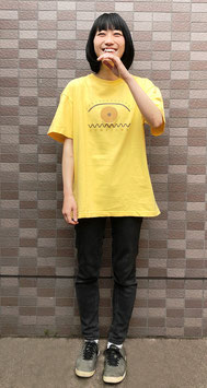 Tシャツ yellow×blown