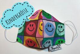 """GESICHTSMASKE - Größe XS (Kinder) - Modell """"Smiley"""""""