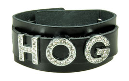 "LEDERARMBAND ""H.O.G."" - exclusiv für Harley Owner Group Members"