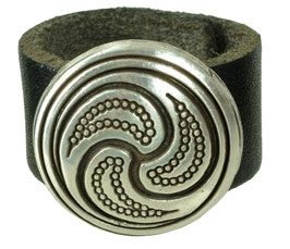"LEDERRING ""CELTIC ROUND"""