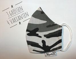 """GESICHTSMASKE - Größe S (Damen) - Modell """"Camouflage"""""""