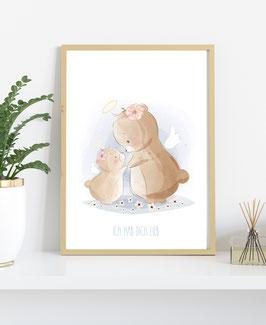 Poster Bären