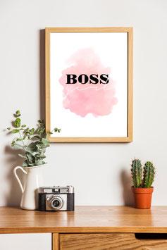 Poster Bossgirl